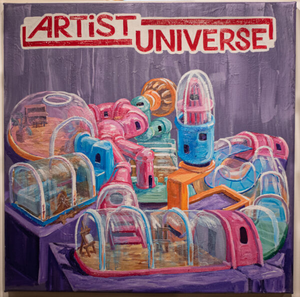 The artist universe of GRiLS